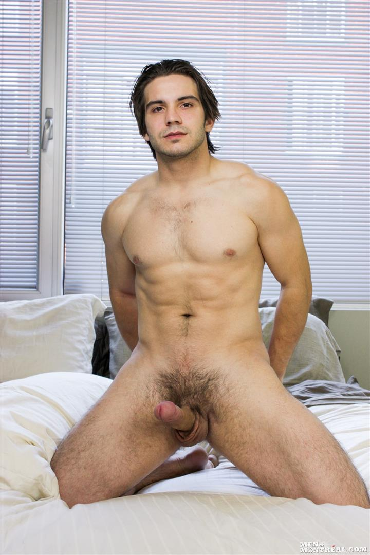Amateur Hunk Jerking His Hung Dick