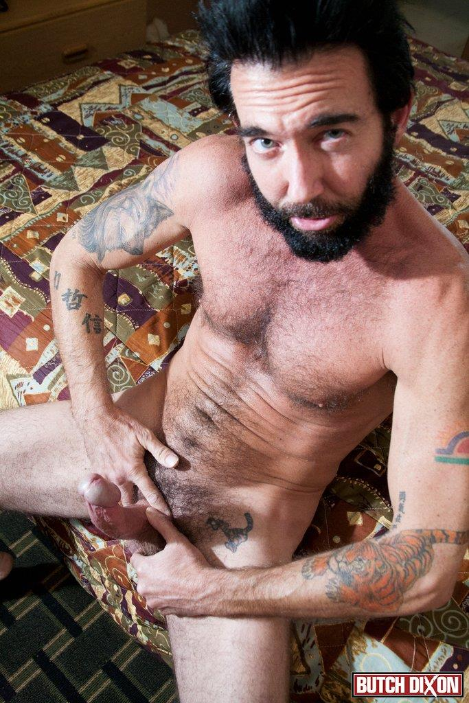 Butch Dixon Tom Nero Hairy Daddy Jerking Off A Big Fat Mushroom Head Cock Amateur Gay Porn 07 Hairy Stud Tom Nero Jerking His Thick Mushroom Head Cock