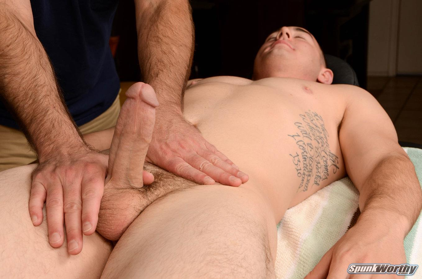 SpunkWorthy Damian Straight Marine Gets a Handjob From A Guy Amateur Gay Porn 11 Straight 22 Year Old Marine Gets A Handjob From A Guy