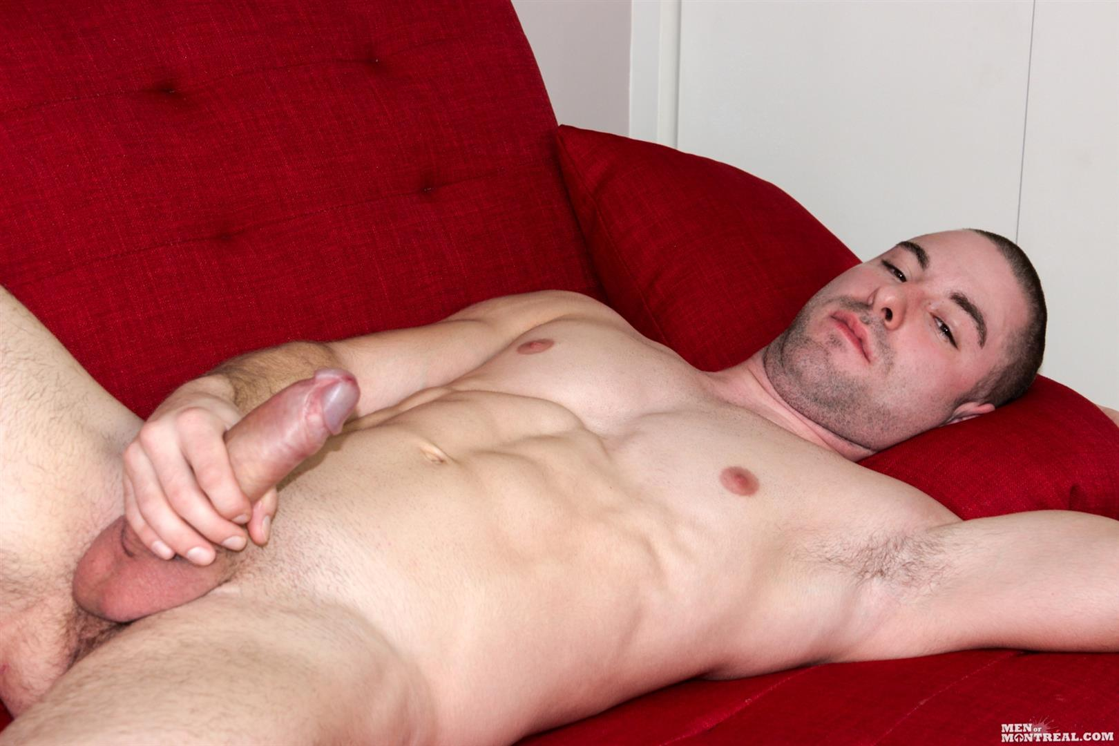 Men-of-Montreal-Cedrick-Dupuy-Hung-Muscle-Guy-With-Big-Uncut-Cock-Amateur-Gay-Porn-11 Canadian Hunk With A Big Uncut Cock Auditions For Gay Porn