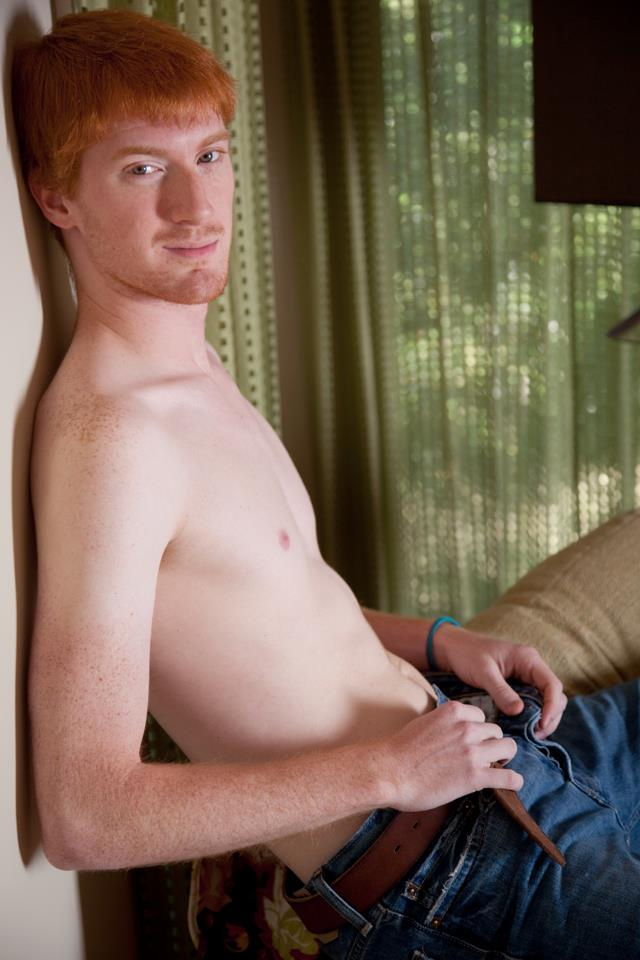 Southern Strokes Neil Redhead Ginger Twink Jerking Off Amateur Gay Porn 03 Happy St. Paddys Day   Enjoy This Redheaded Twink Jerking Off