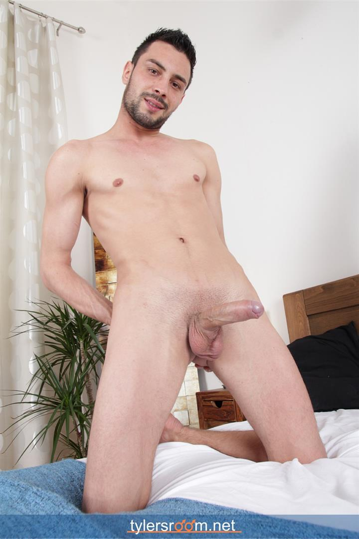 Tylers-Room-Lukas-Novy-Naked-Czech-Guy-With-A-Big-Uncut-Cock-Amateur-Gay-Porn-11 Young Czech Guy Lukas Novy Auditions For Gay Porn With His Big Uncut Cock