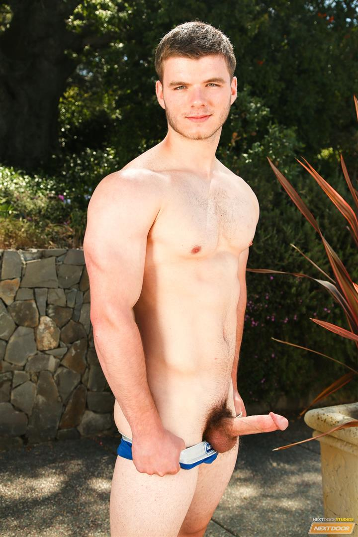 Next-Door-Male-Ivan-James-Muscular-Twink-Masturbation-Thick-Cock-Amateur-Gay-Porn-10 West Virginia Country Boy Strokes His Big Thick Cock