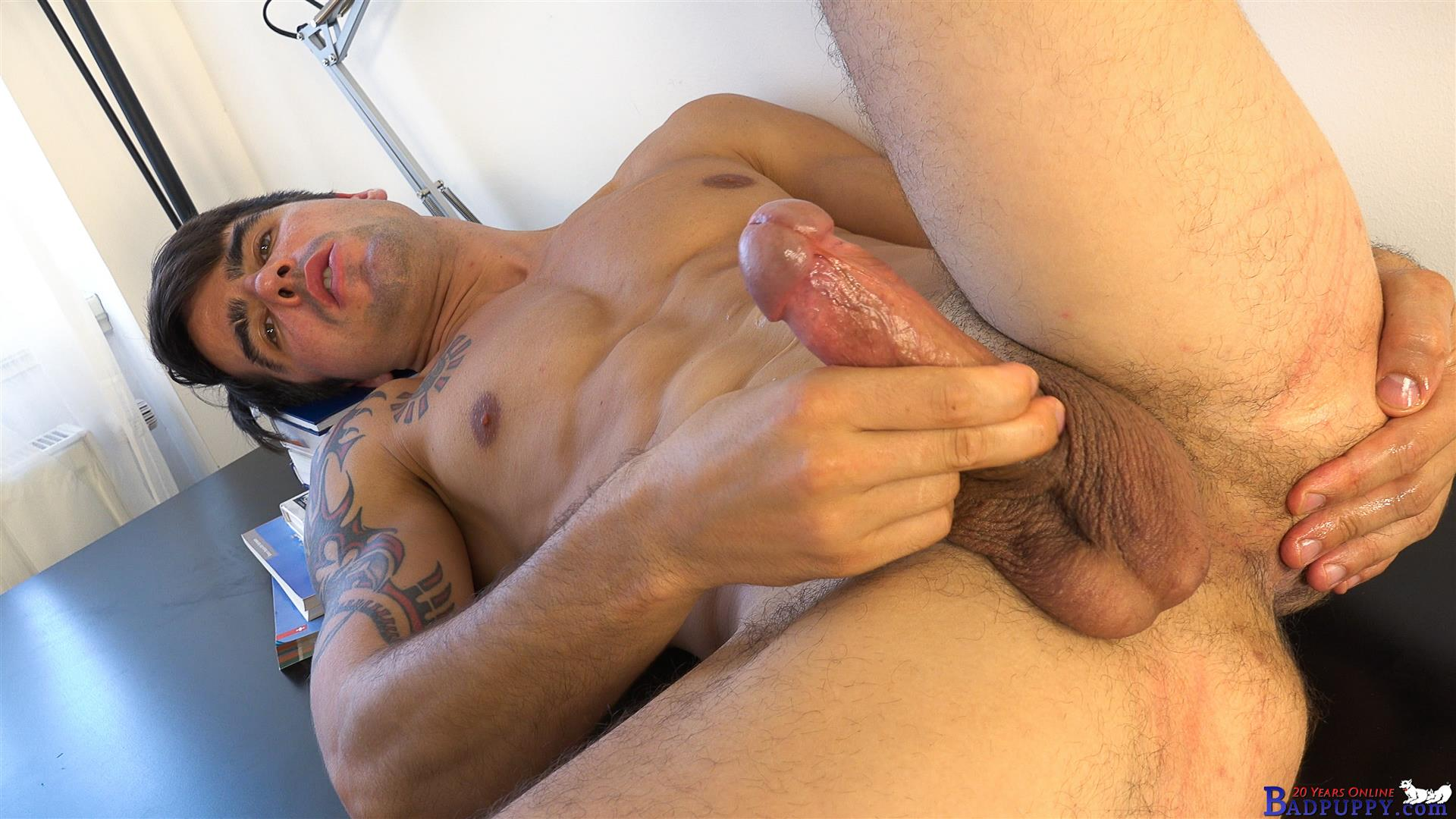 Badpuppy Milan Pis Straight Guy With Big Uncut Cock Masturbating Amateur Gay Porn 14 Straight Italian Banker Masturbating His Big Uncut Cock