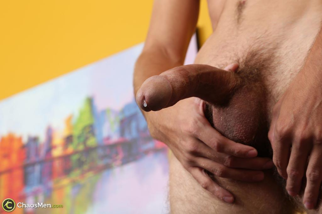 Chaosmen-Augustine-Straight-Guy-With-A-Big-Horse-Cock-Amateur-Gay-Porn-38 Skinny Redneck With A Hairy Ass Stroking His 10