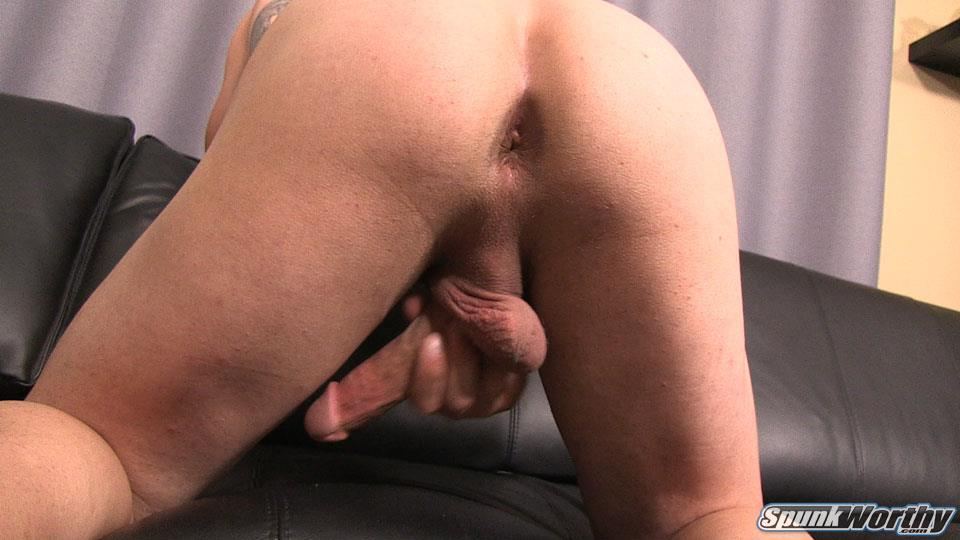 SpunkWorthy-Avery-Straight-Army-Soldier-Jerking-Off-Big-Cock-Amateur-Gay-Porn-25 Married Straight Muscular Army Soldier Jerking Off For Cash