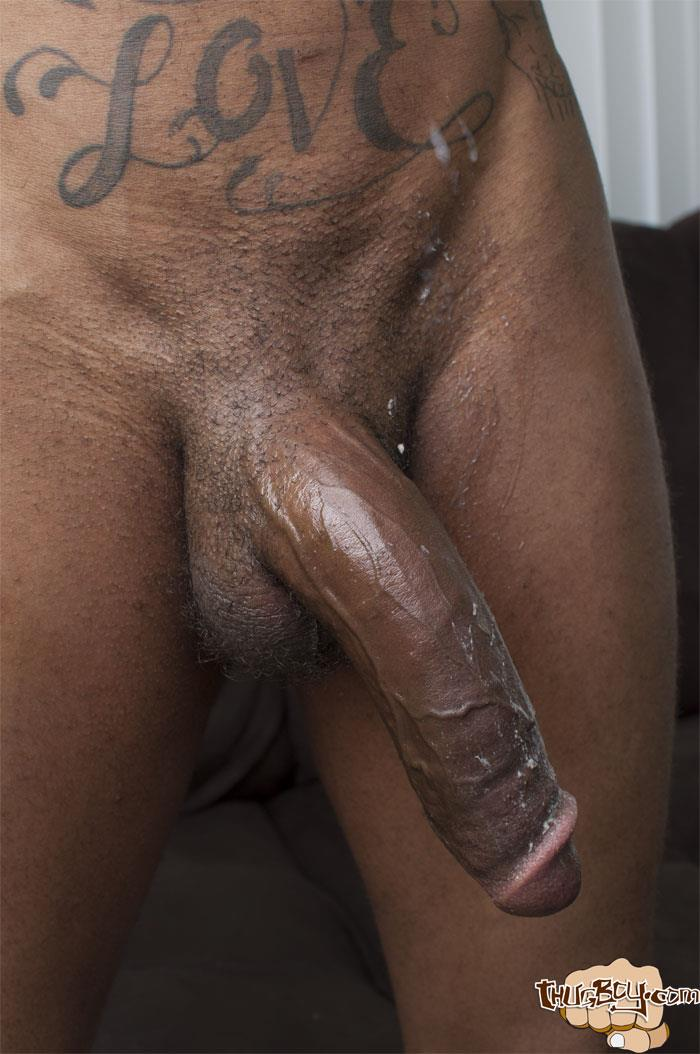 Really. All His big black cock that