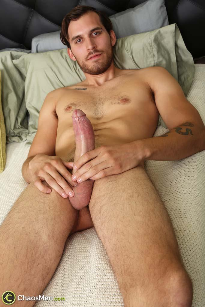 Chaosmen-Leon-Bisexual-Guy-With-A-Big-Uncut-Dick-Low-Hanging-Balls-Amateur-Gay-Porn-26 Bisexual Guy Jerks His Huge Uncut Cock With Low Hanging Balls