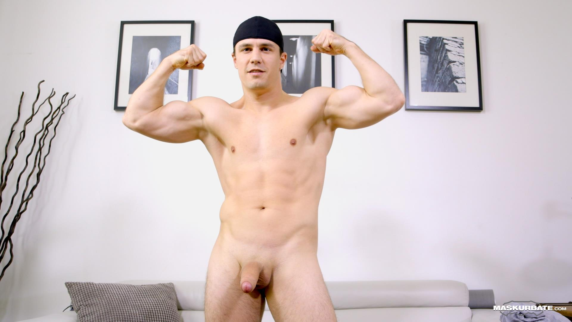 Maskurbate Ricky Muscl Jock Stroking His Big Uncut Cock Amateur Gay Porn 06 Smooth Muscle Jock Stroking His Big Uncut Cock