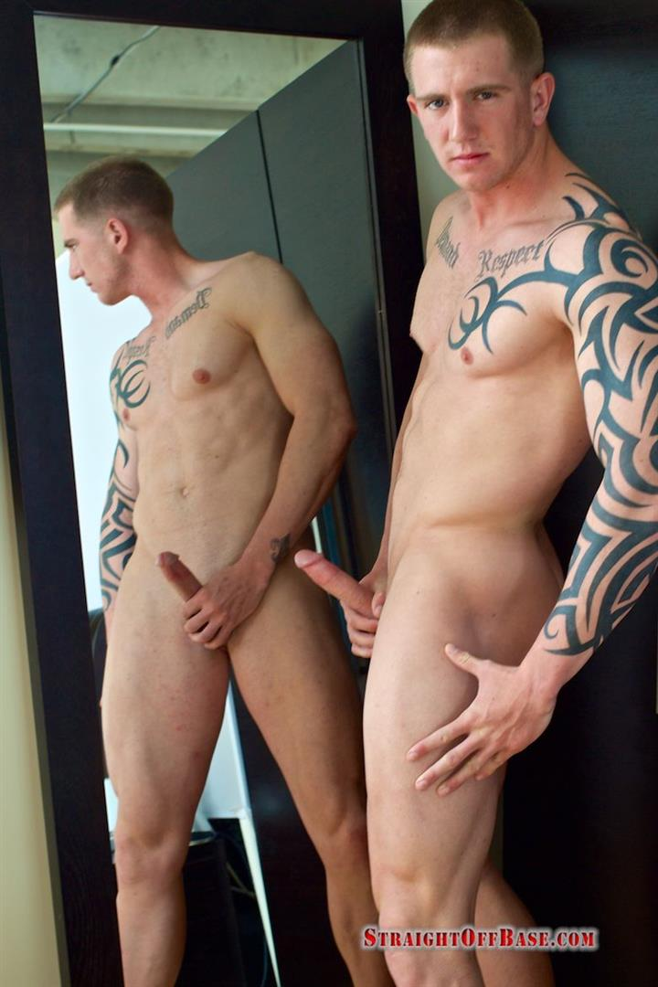 Straight Off Base Shane Naked Marine Jerk Off Amateur Gay Porn 11 Muscled Marine Corporal Jerks His Smooth Shaved Cock