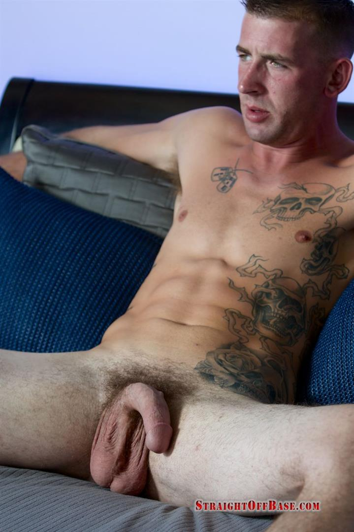 Straight Off Base Naked Marine Jerking Off Dean Amateur Gay Porn 08 Straight US Marine Sergeant Rubs One Out Of His 8 Cock