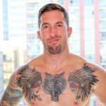 Active Duty Brad Powers Naked Army Soldier With A Big Cock Amateur Gay Porn 06 150x150 Tatted Hung Army Soldier Brad Powers Shoots A Big Load Of Cum