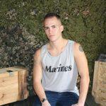 Active Duty Richard Buldger Naked Marine Jerking Off Big Dick 03 150x150 Naked Marine Jerks Off And Shoots A Load of Cum