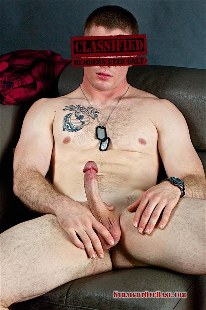 Straight-Off-Base-Corporal-Know-Naked-US-Marine-Jerking-Off-04 Ripped Straight Marine Jerking His 8