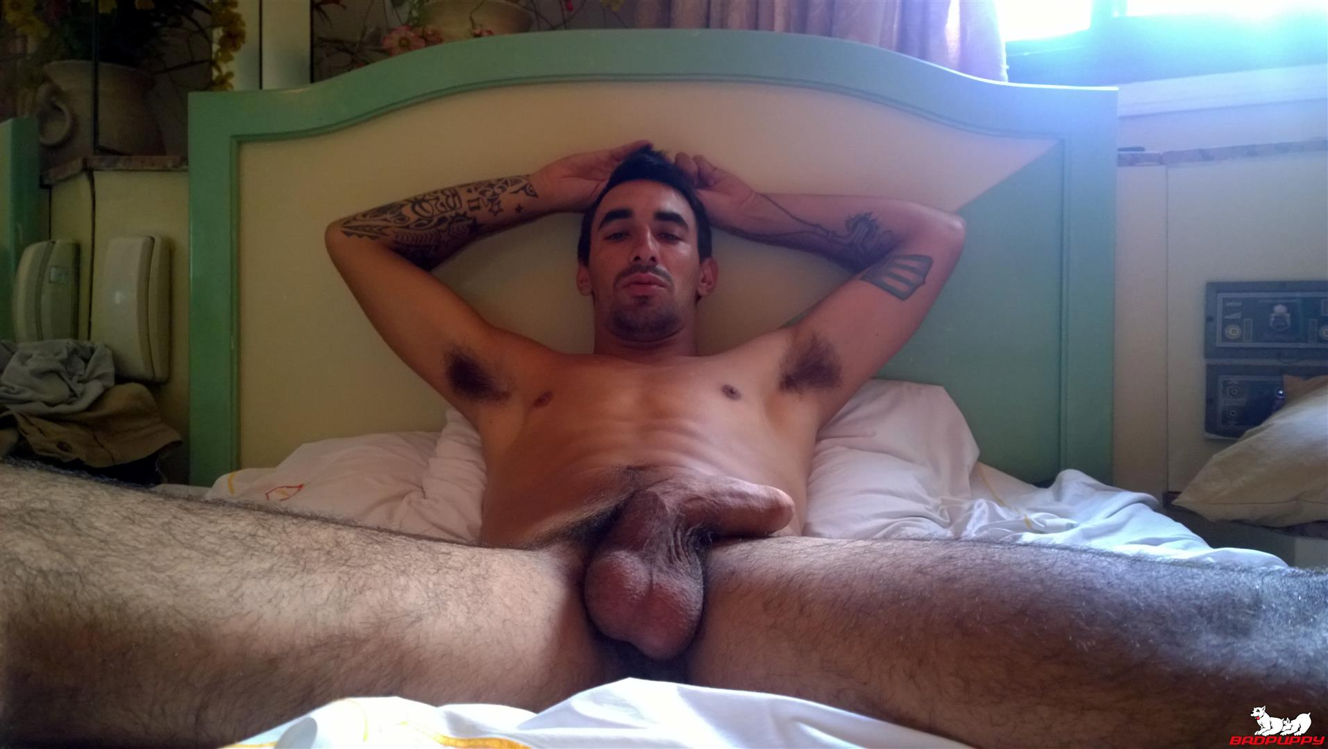 Badpuppy Fabian Flores Argentinian with a Big Uncut Cock 04 Argentinian Hunk With A Big Uncut Cock Auditions For Gay Porn