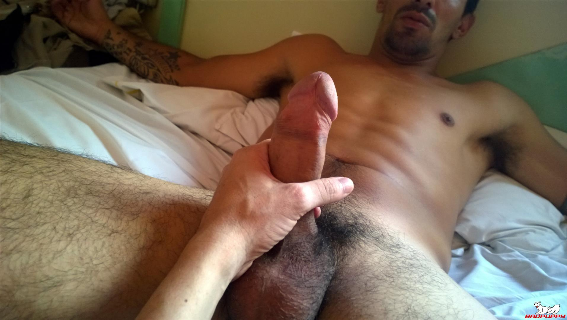 Badpuppy-Fabian-Flores-Argentinian-with-a-Big-Uncut-Cock-09 Argentinian Hunk With A Big Uncut Cock Auditions For Gay Porn