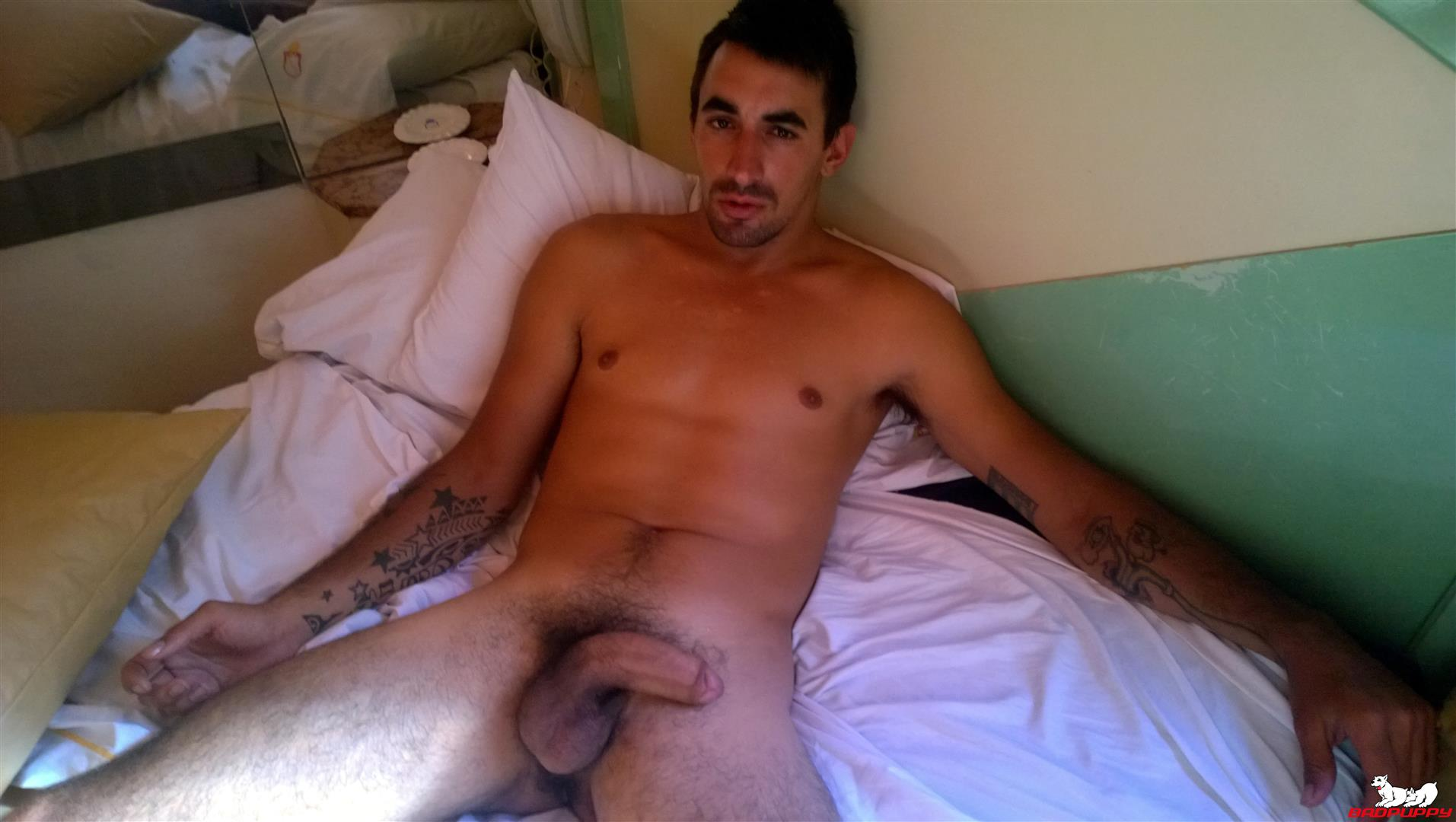 Badpuppy-Fabian-Flores-Argentinian-with-a-Big-Uncut-Cock-14 Argentinian Hunk With A Big Uncut Cock Auditions For Gay Porn