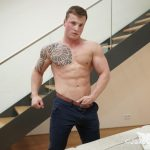 Jake-Cruise-Tommy-Morava-Muscle-Hunk-With-Big-Uncut-Cock-04-150x150 European Muscle Hunk Strokes His Fat Uncut Cock