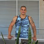 Active-Duty-Rico-Military-With-A-Big-Uncut-Cock-Masturbation-Pics-05-150x150 Muscular Military Hunk Shows Off A Massive Uncut Cock