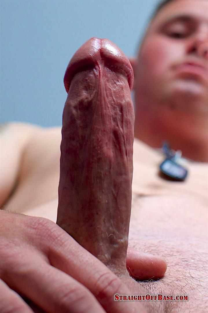 Straight-Off-Base-Easton-Naked-Marine-Jerks-Off-Thick-Cock-05 Hairy Ass Beefy US Marine Strokes His Thick Cock
