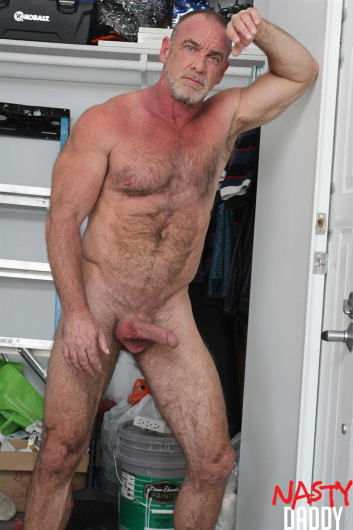 Nasty-Daddy-Trace-OMalley-Hairy-muscle-Daddy-With-Thick-Cock-Jerk-Off-Video-18 Hairy Muscle Daddy Shows Off His Thick Cock And Jerks Off