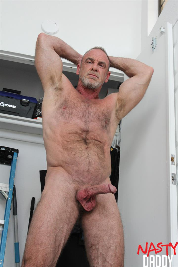 Nasty-Daddy-Trace-OMalley-Hairy-muscle-Daddy-With-Thick-Cock-Jerk-Off-Video-21 Hairy Muscle Daddy Shows Off His Thick Cock And Jerks Off