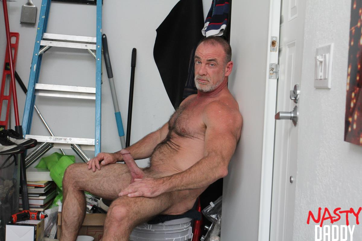 Nasty-Daddy-Trace-OMalley-Hairy-muscle-Daddy-With-Thick-Cock-Jerk-Off-Video-23 Hairy Muscle Daddy Shows Off His Thick Cock And Jerks Off