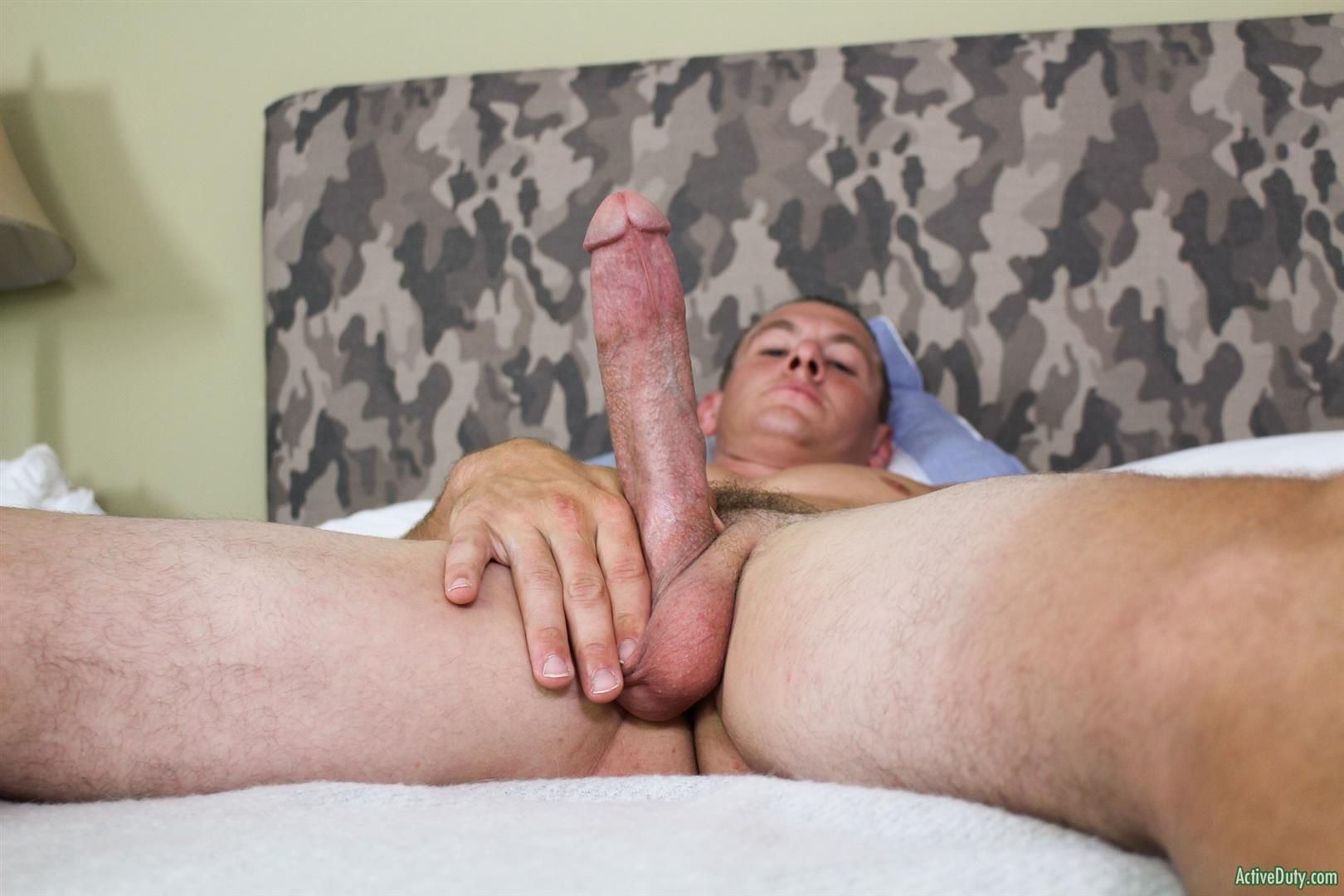 Active-Duty-Phoenix-River-Navy-Guy-With-A-Big-Cut-Cock-Jerking-Off-10 Muscular Navy Hunk Shows Off And Strokes His Huge Horse Cock
