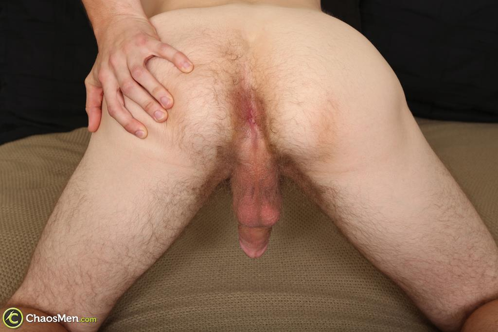 Chaosmen-Beckett-Hairy-Otter-With-A-Thick-Cock-Jerking-Off-28 Bisexual Otter Hunk Strokes His Thick 8