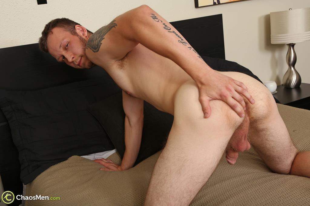 Chaosmen-Beckett-Hairy-Otter-With-A-Thick-Cock-Jerking-Off-29 Bisexual Otter Hunk Strokes His Thick 8
