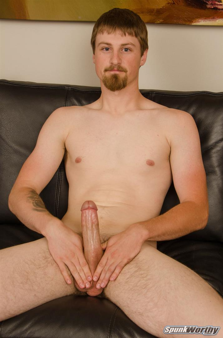 SpunkWorthy-Sutter-Straight-Naked-Sailor-Jerking-Off-Big-Cock-06 Tall Straight Navy Sailor Shoots A Big Load From His 8