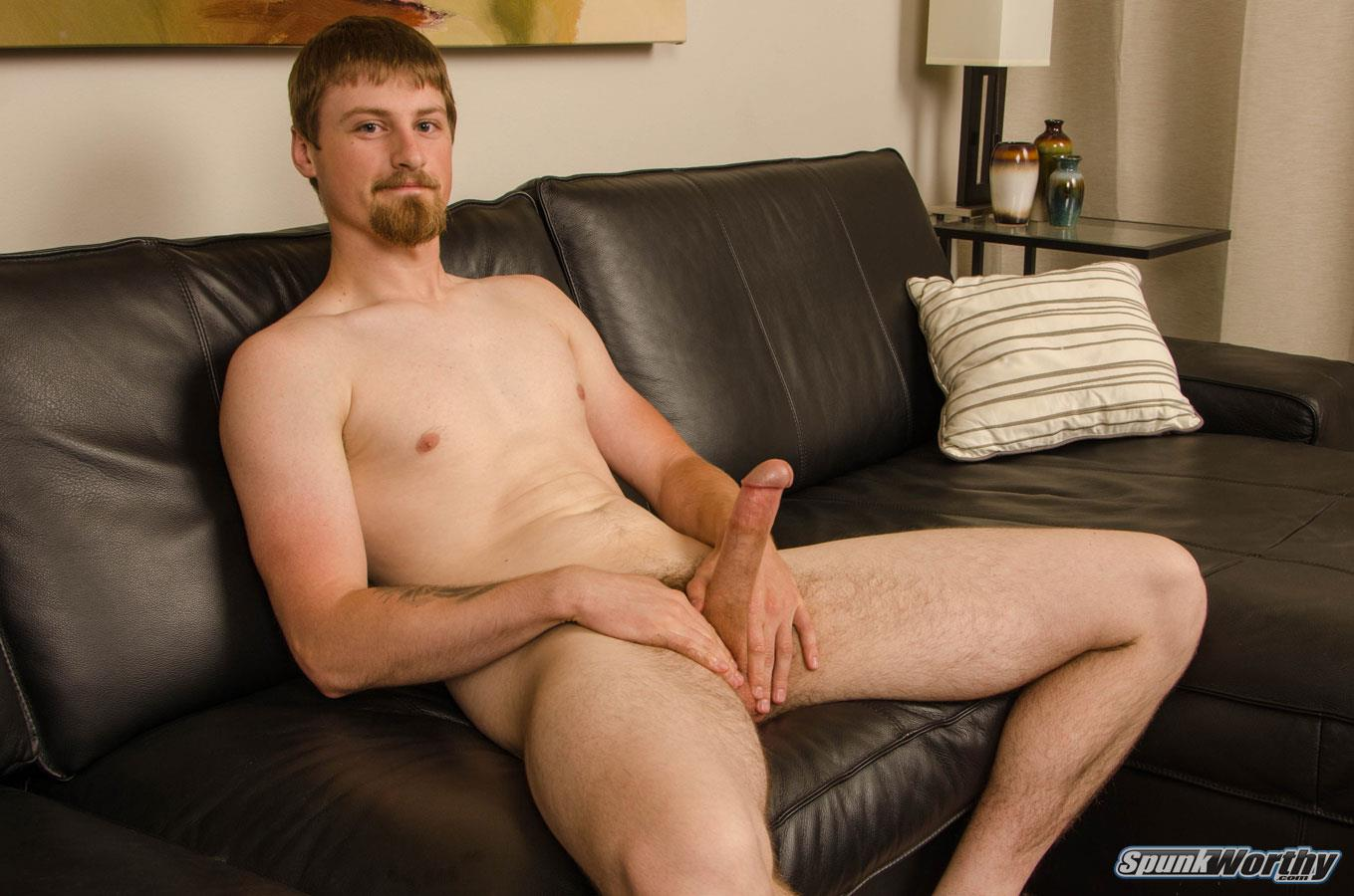 SpunkWorthy-Sutter-Straight-Naked-Sailor-Jerking-Off-Big-Cock-07 Tall Straight Navy Sailor Shoots A Big Load From His 8