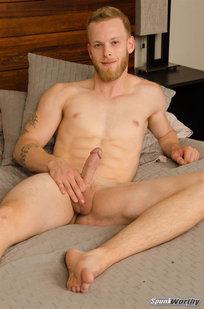 SpunkWorthy-Tosh-Straight-Ginger-Boy-Jerking-Off-His-Big-Cock-13 Straight Ginger Boy Jerking His Big Cock On Video