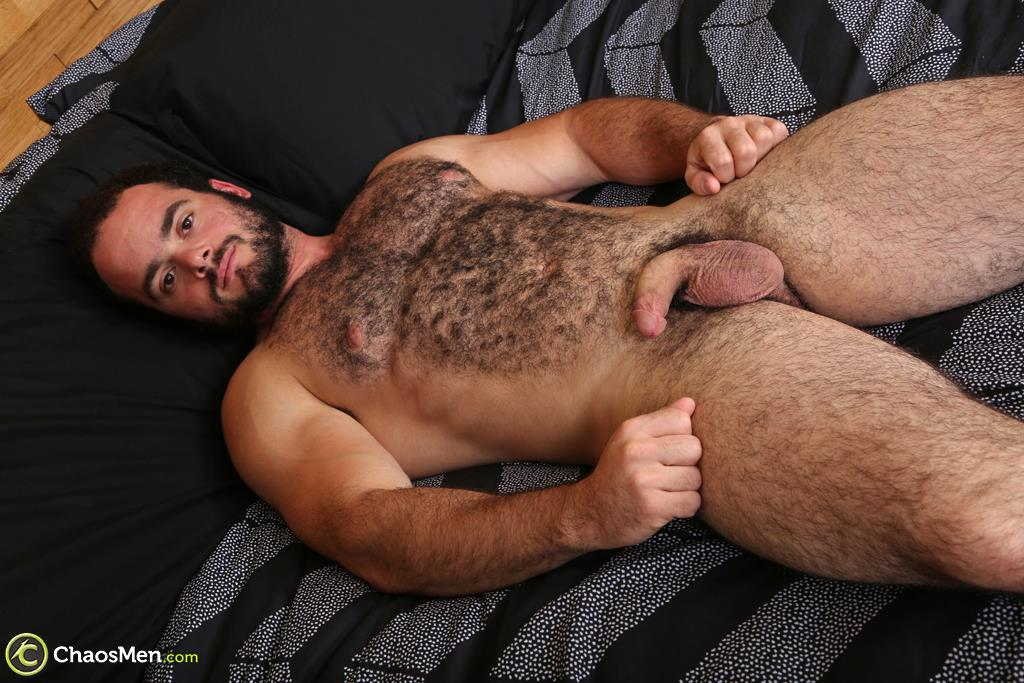 Chaosmen-Steve-Strongarm-Beefy-Hairy-Muscle-Hunk-Jerking-Off-11 Beefy Hairy Muscle Hunk Shows Off His Hairy Ass And Jerks Off