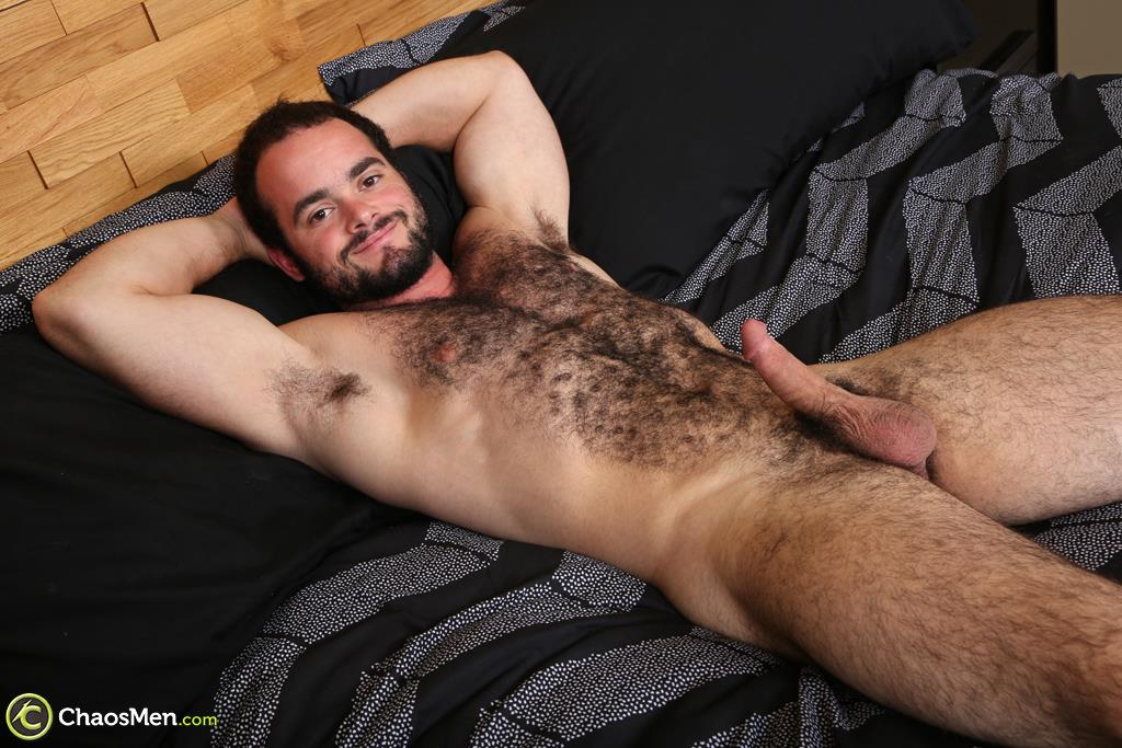 Chaosmen-Steve-Strongarm-Beefy-Hairy-Muscle-Hunk-Jerking-Off-17 Beefy Hairy Muscle Hunk Shows Off His Hairy Ass And Jerks Off