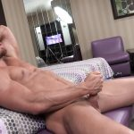 Maskurbate-Brad-and-Pascal-Muscle-Hunk-Jerking-Off-In-A-Condom-06-150x150 Straight Masked Muscle Hunk Gets Paid To Jerk Off In A Condom