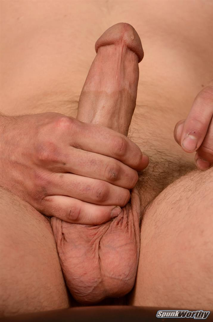 SpunkWorthy-Ken-Big-Dick-Marine-Gets-Jerked-off-By-A-Guy-04 Horned Up US Marine Gets A Surprise Handjob From Another Guy