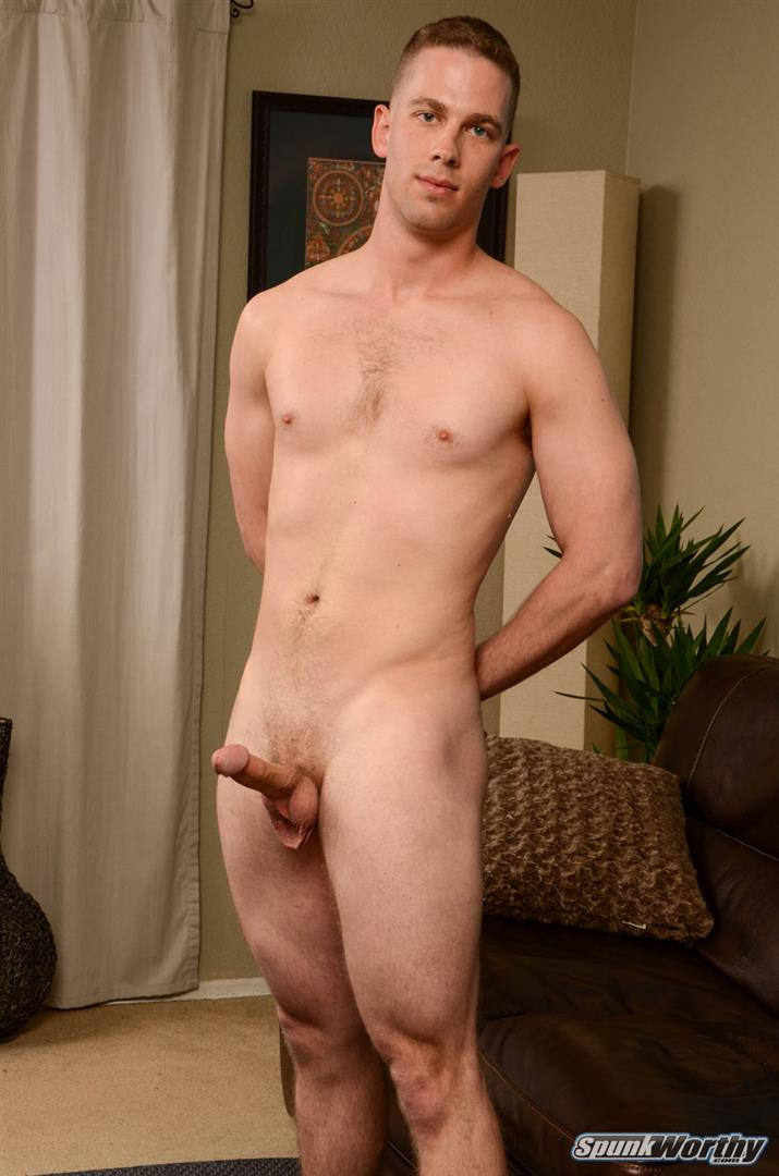 SpunkWorthy-Ken-Big-Dick-Marine-Gets-Jerked-off-By-A-Guy-08 Horned Up US Marine Gets A Surprise Handjob From Another Guy