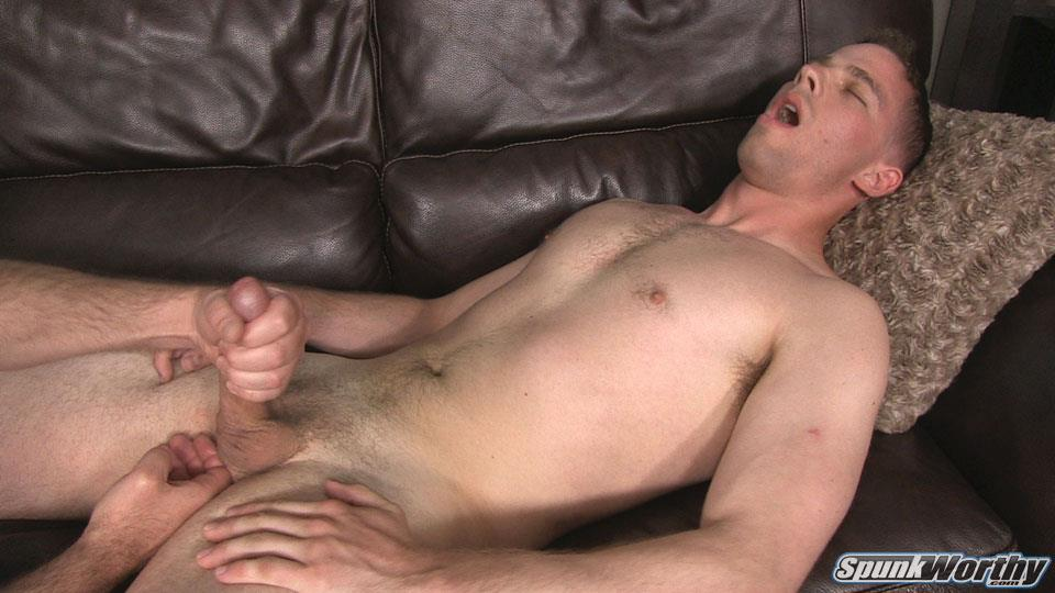 SpunkWorthy-Ken-Big-Dick-Marine-Gets-Jerked-off-By-A-Guy-26 Horned Up US Marine Gets A Surprise Handjob From Another Guy