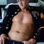 Straight-Off-Base-Jackson-Big-Dick-Naked-Marine-Jerking-Off-07-150x150 Marine Sergeant Jerking His Big Cock In His Dress Blues