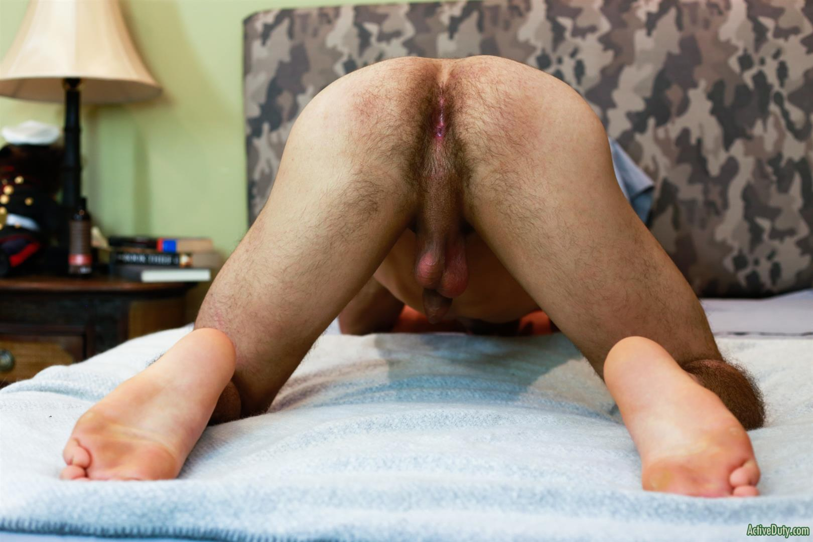 Active-Duty-Monte-Marcello-Big-Uncut-Dick-Soldier-Jerking-Off-With-Hairy-Ass-14 US Army Private Jerks His Big Uncut Cock And Shows Off His Hairy Hole
