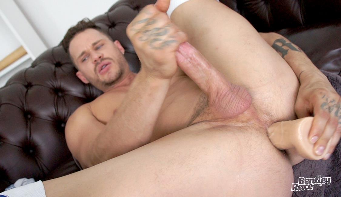 Bentley-Race-Tate-Ryder-Jock-Jerking-Off-His-Big-White-Cock-Video-27 Tate Ryder Jerks Off His Big Hard Cock And Shoves A Dildo Up His Ass