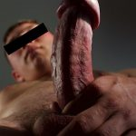 Straight-Off-Base-Dillan-Straight-Naked-Marine-With-A-Big-Cock-Jerking-Off-20-150x150 US Marine Corp Sergeant Strokes His Big Curved Cock