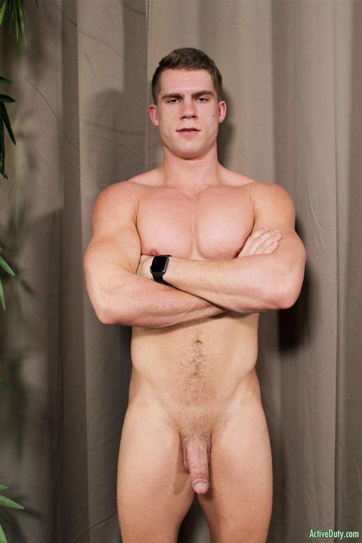 Active-Duty-Danny-D-Naked-US-Marine-Jerking-Off-His-Big-Cock-07 Naked Muscular US Marine Jerking Off His Big Cock