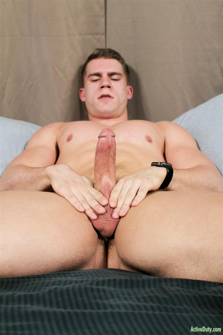 Active-Duty-Danny-D-Naked-US-Marine-Jerking-Off-His-Big-Cock-08 Naked Muscular US Marine Jerking Off His Big Cock