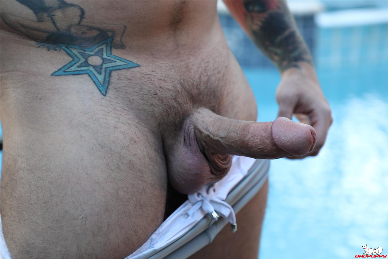 Badpuppy-Eddie-Danger-Thick-Boy-Stroking-His-Fat-Cock-Cum-Video-03 Thick Go-Go Boy Stokes His Hard Fat Cock Until He Cums