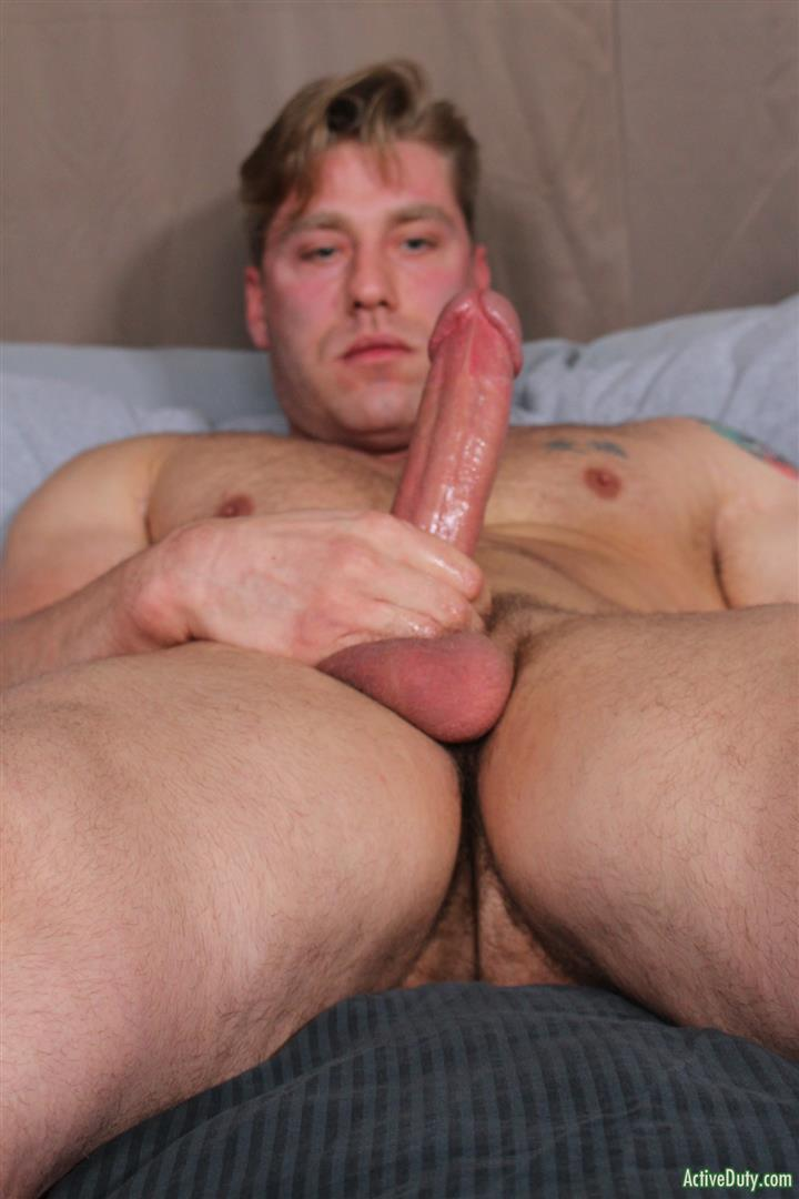 Active-Duty-John-Hawkins-Muscular-Air-Force-Guy-Big-Cock-Jerk-Off-Video-07 US Air Force Airman Strokes His Big Hard Cock