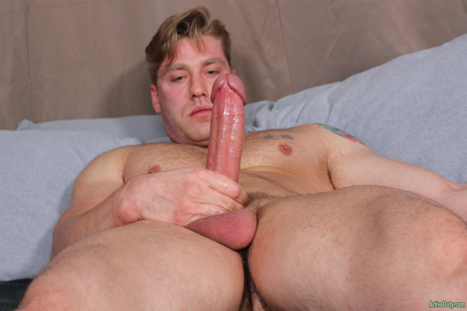 Active-Duty-John-Hawkins-Muscular-Air-Force-Guy-Big-Cock-Jerk-Off-Video-08 US Air Force Airman Strokes His Big Hard Cock