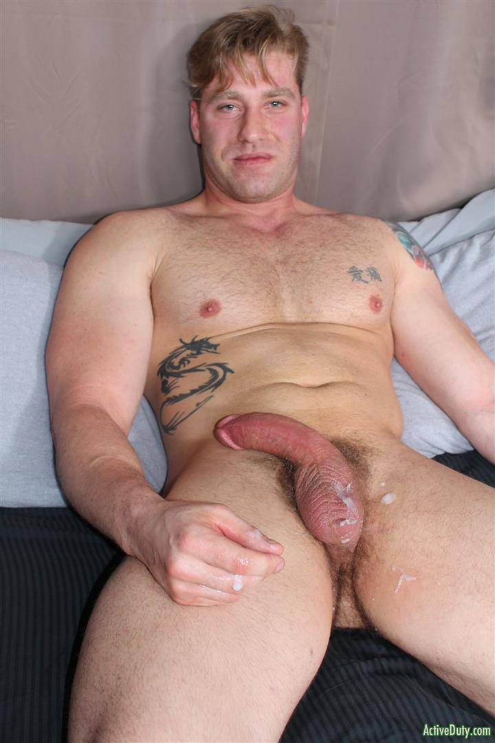 Active-Duty-John-Hawkins-Muscular-Air-Force-Guy-Big-Cock-Jerk-Off-Video-12 US Air Force Airman Strokes His Big Hard Cock